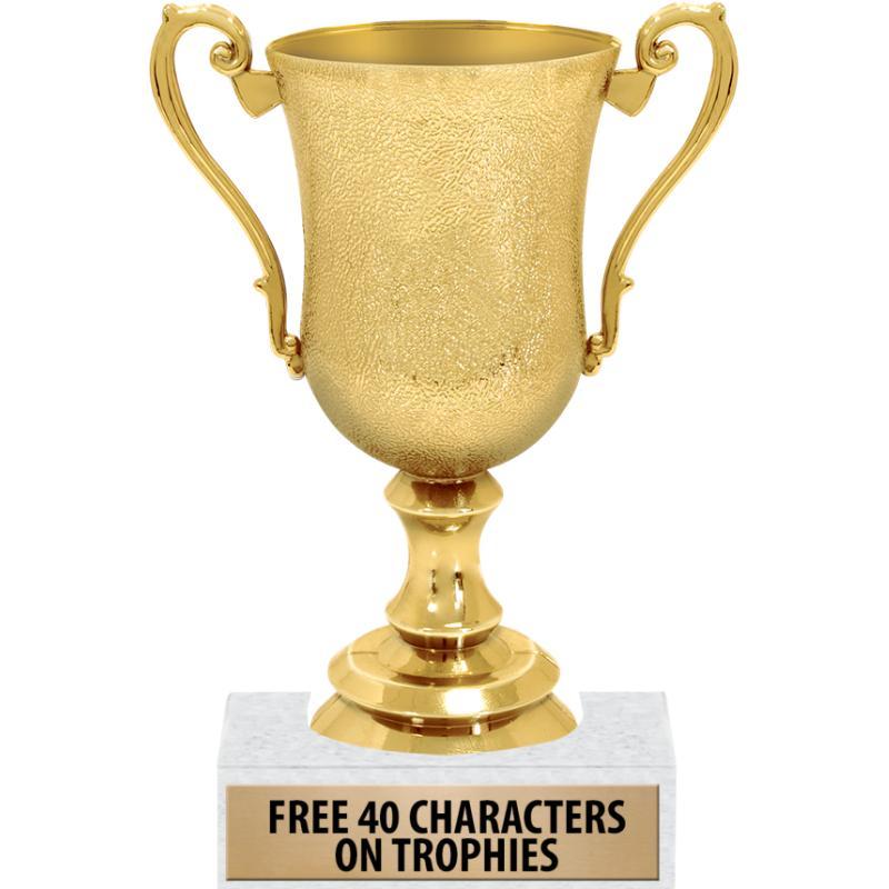 GOLD CREVASSE CUP TROPHY