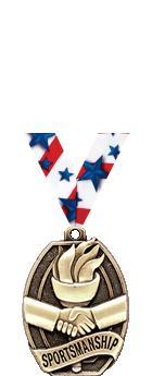 """2"""" Sportsmanship Medal"""