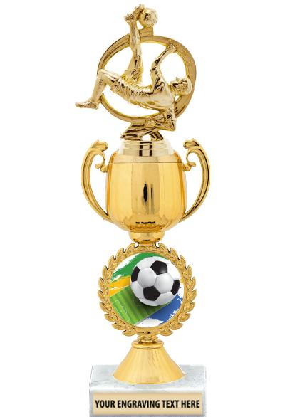 Chaplet Cup With Figure Trophy