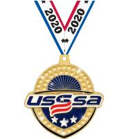"2 1/4"" USSSA Royal Medals"