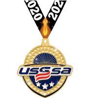 "2 1/4"" USSSA Royal Medals"