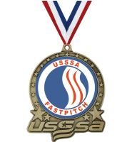 "3"" USSSA Double Action Insert Medals"