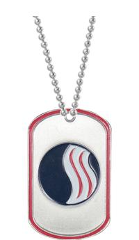 """2"""" USSSA Dogtag"""