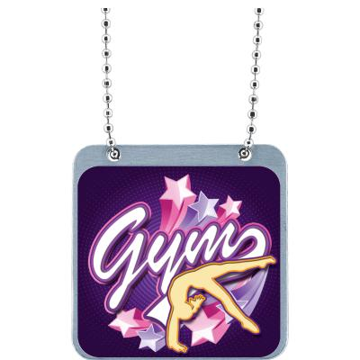 Gymnastics Female Insert Mega Tag