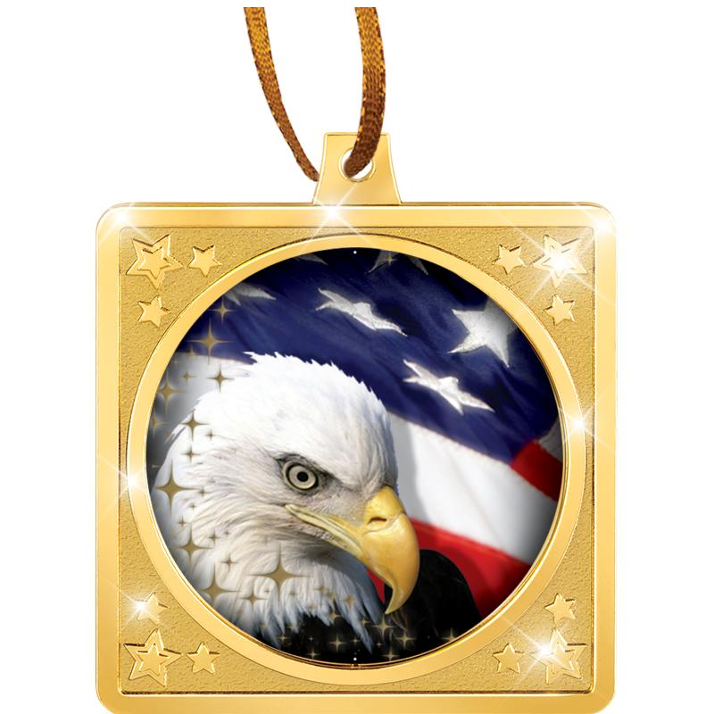 SQUARE CRAFTER MEDAL ORNAMENT