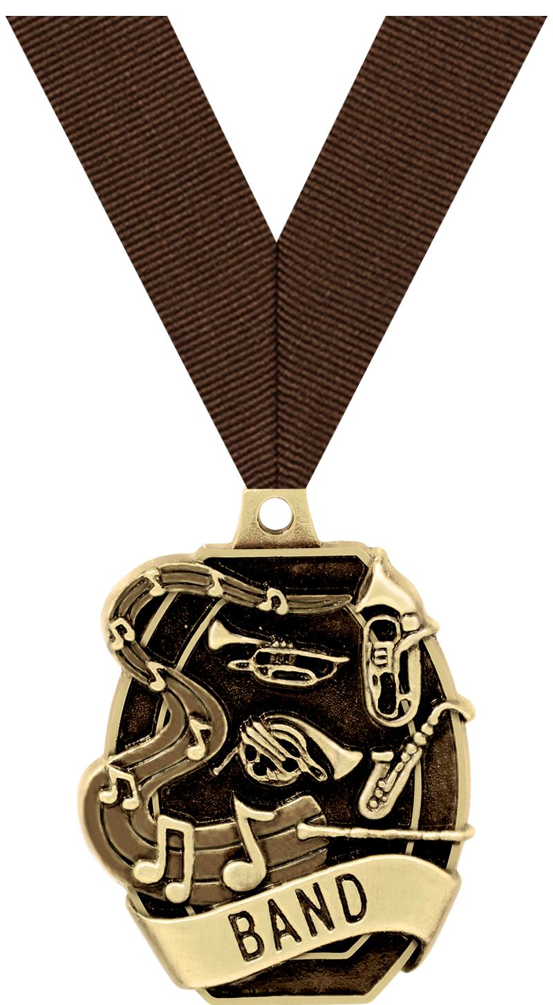 """2"""" SCHOLASTIC - BAND MEDAL"""
