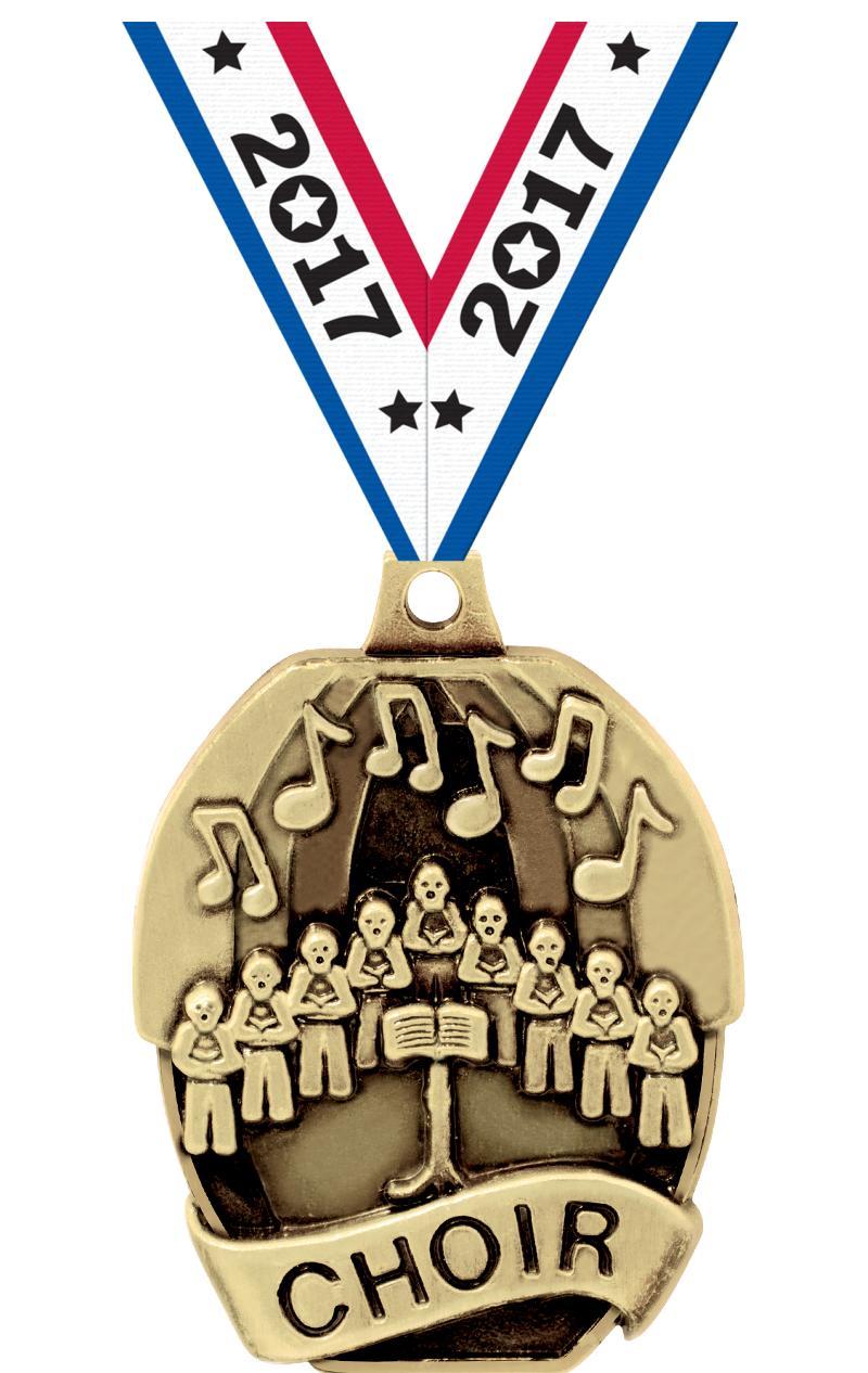 Choir Medals