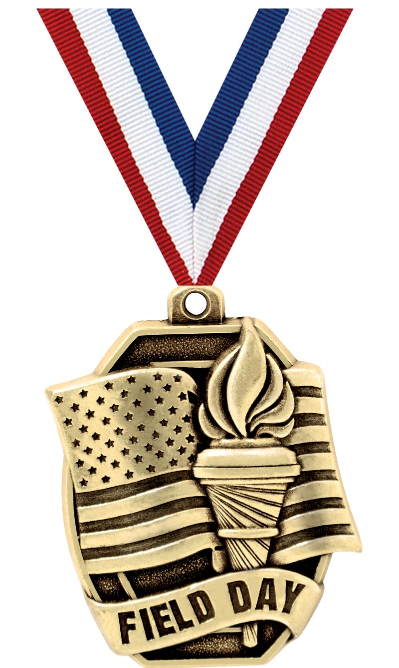 "2""SCHL FIELD DAY MEDAL"