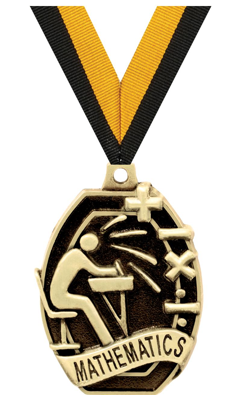 "2"" SCHOLASTIC-MATHEMATIC MEDAL"