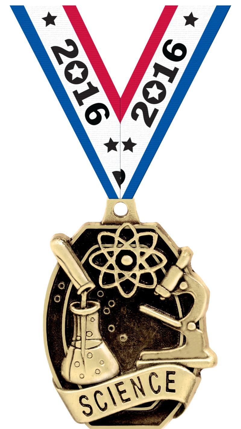 """2"""" SCHOLASTIC - SCIENCE MEDAL"""