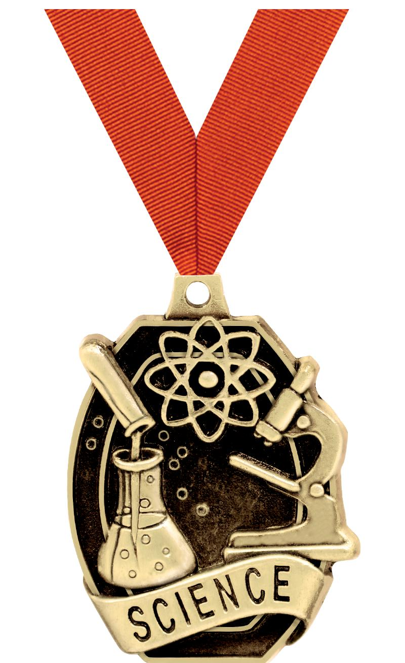 "2"" SCHOLASTIC - SCIENCE MEDAL"