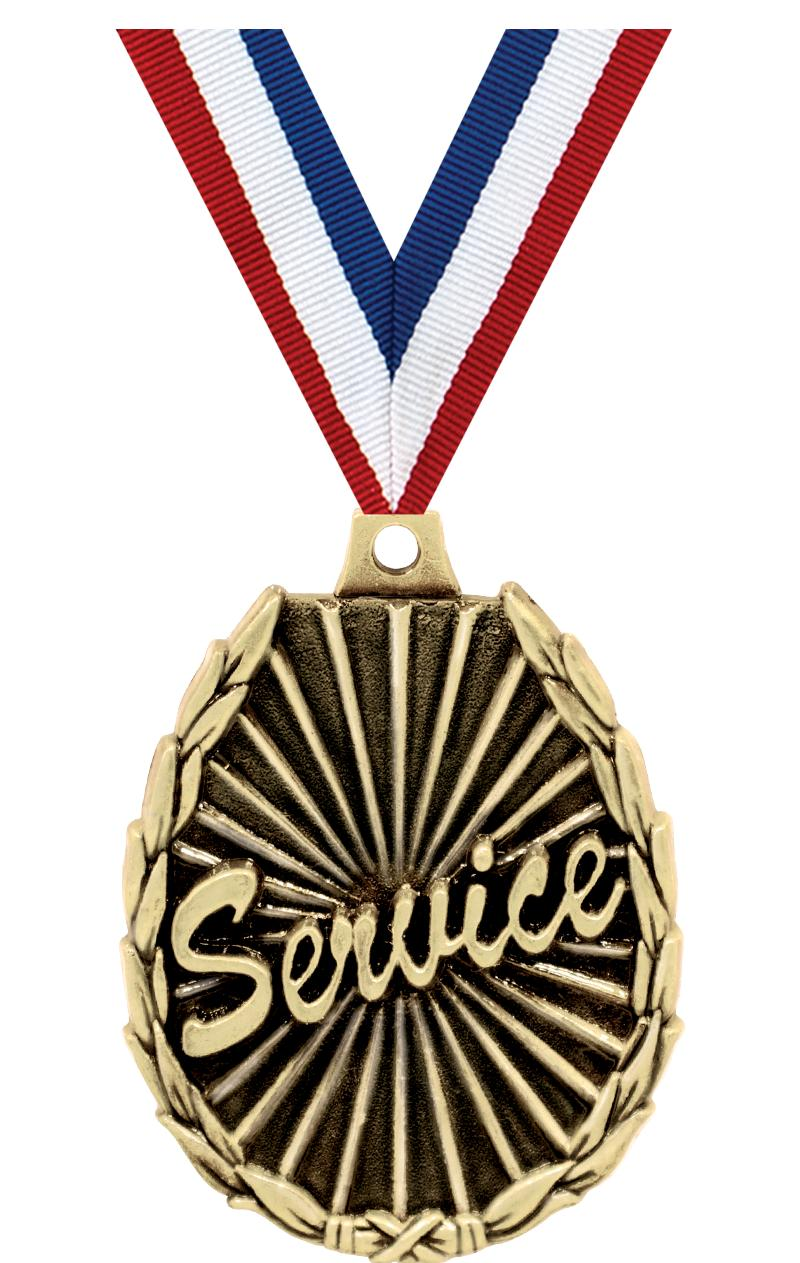 "2"" SCHOLASTIC SERVICE MEDAL"