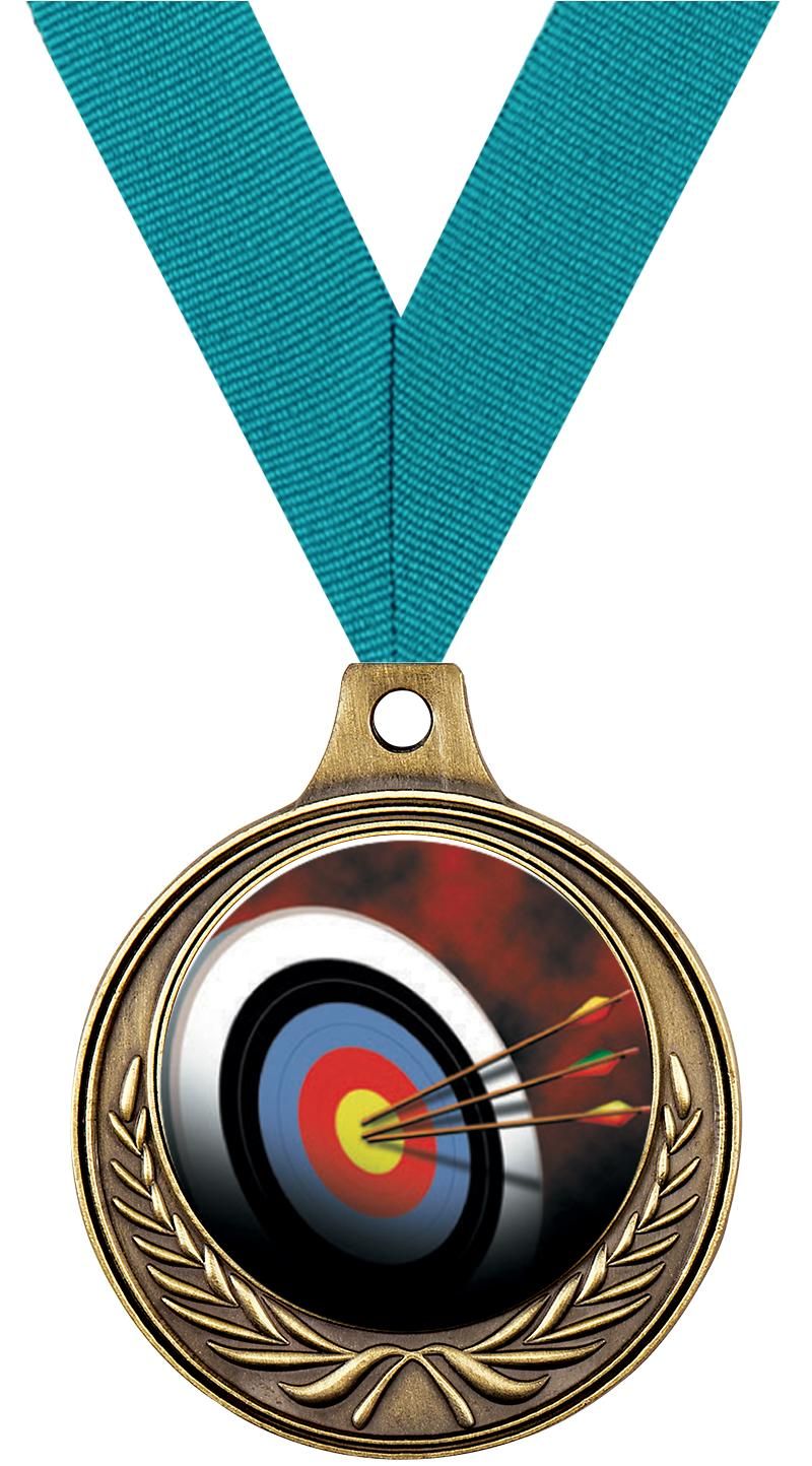 """1 1/2"""" Archery Medals"""