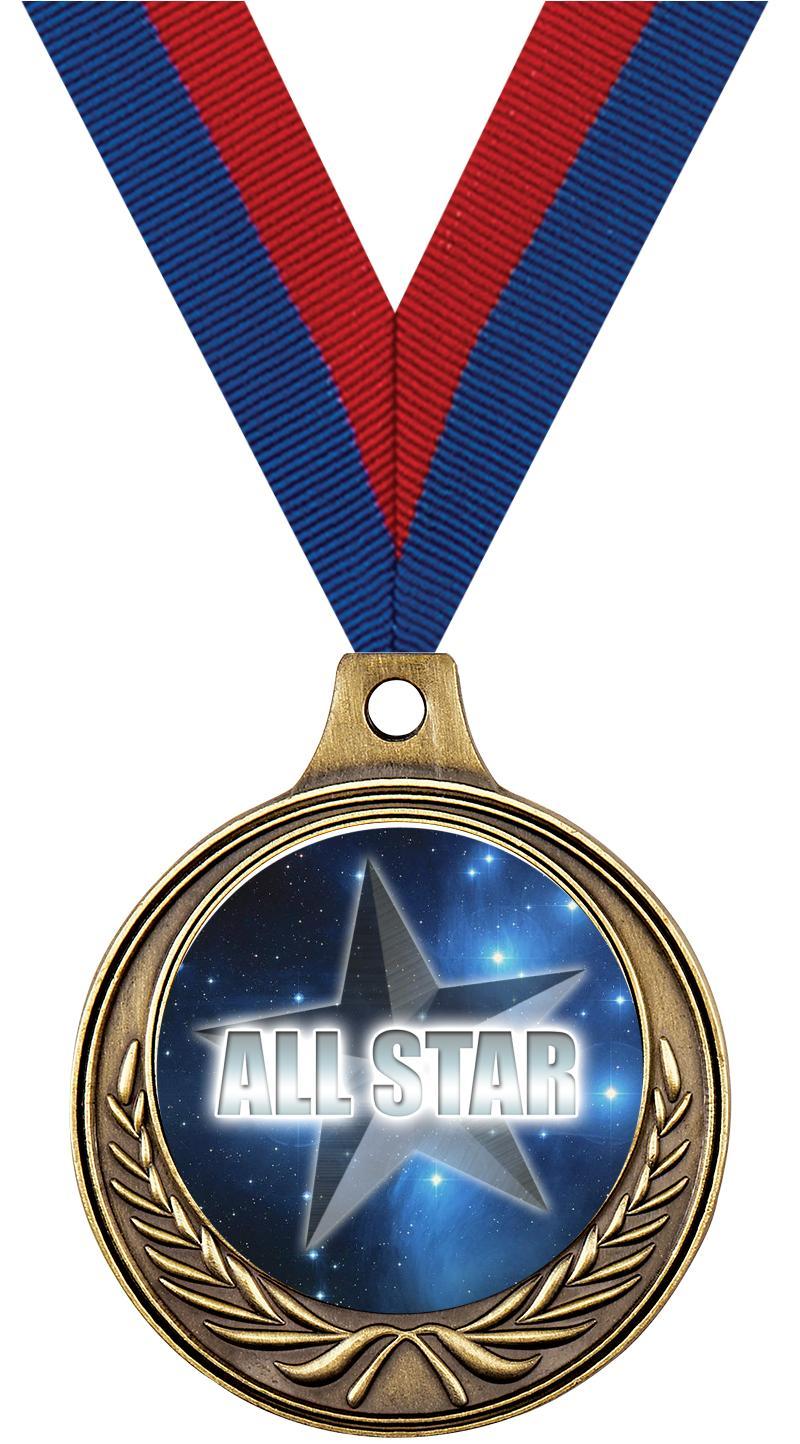 """1 1/2"""" Soccer Medals"""