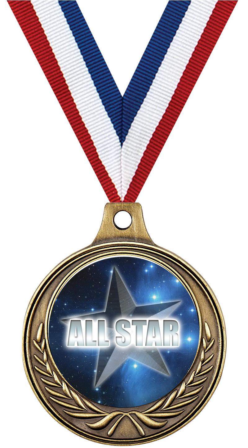"1 1/2"" Basketball Medals"