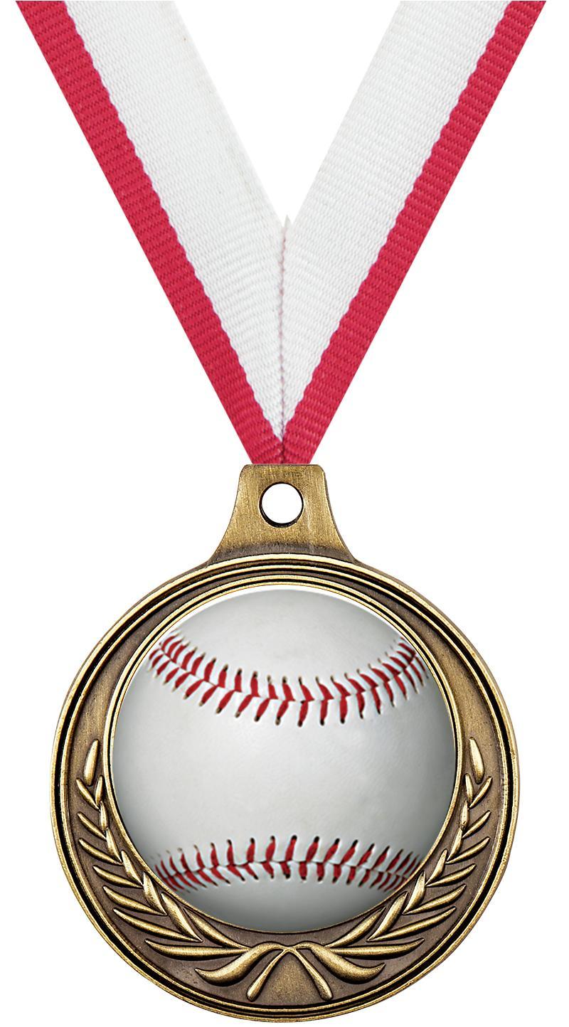 "1 1/2"" Baseball Medals"