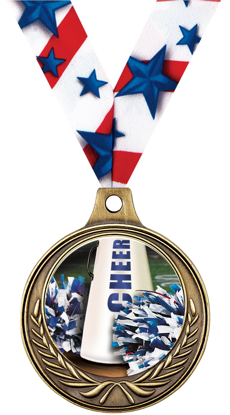 "1 1/2"" Cheer Medals"