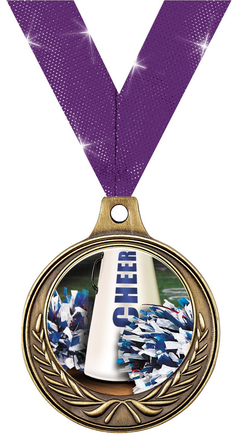 "1 1/2"" Cheer Medals"