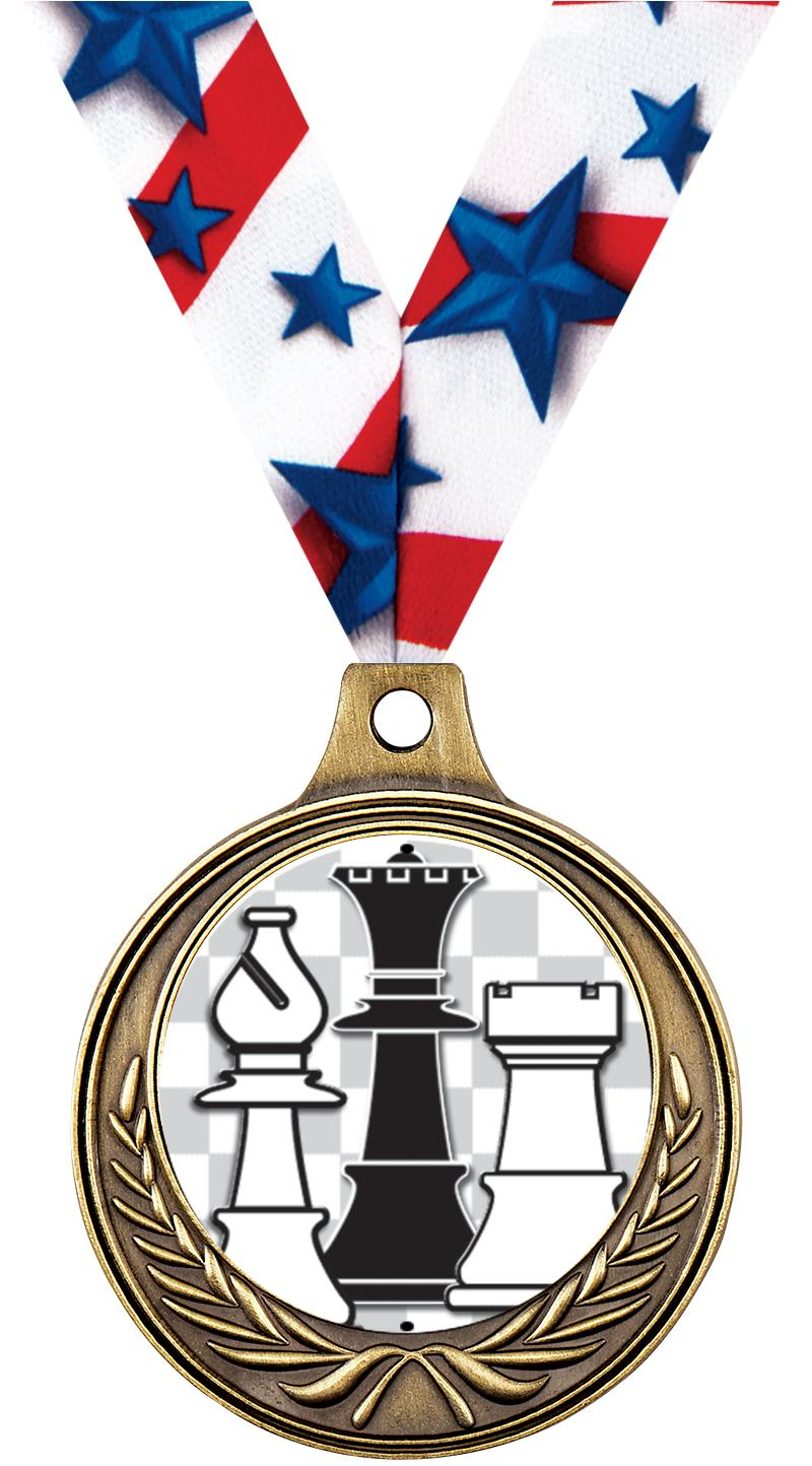 "1 1/2"" Chess Medals"