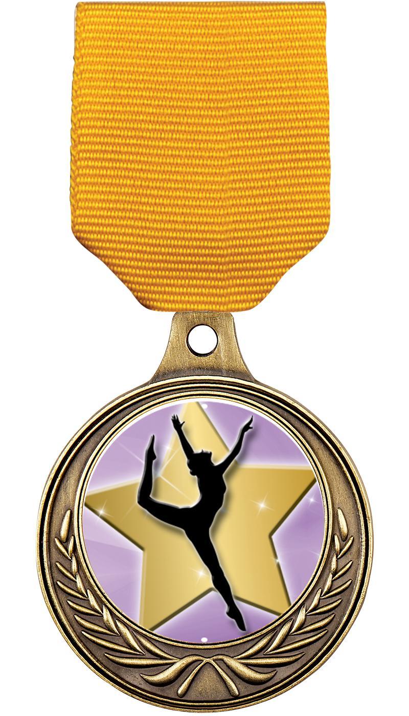 """1 1/2"""" Dance Medals"""