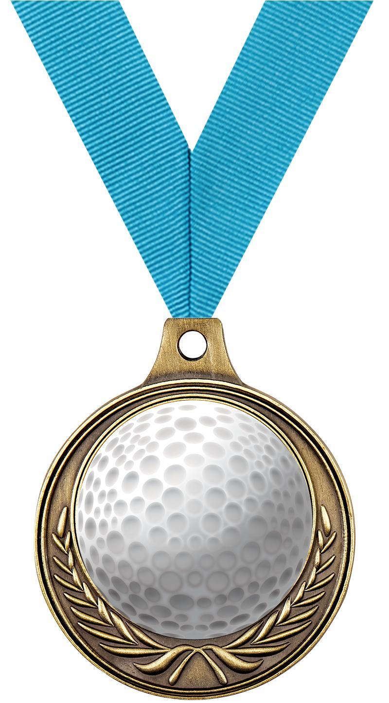 """1 1/2"""" Golf Medals"""