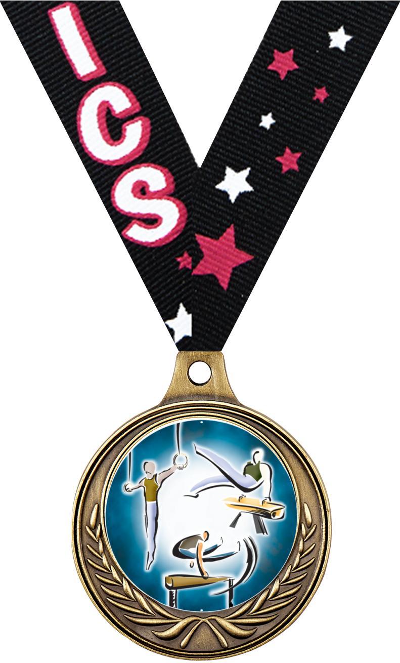 "1 1/2"" Gym Medals"