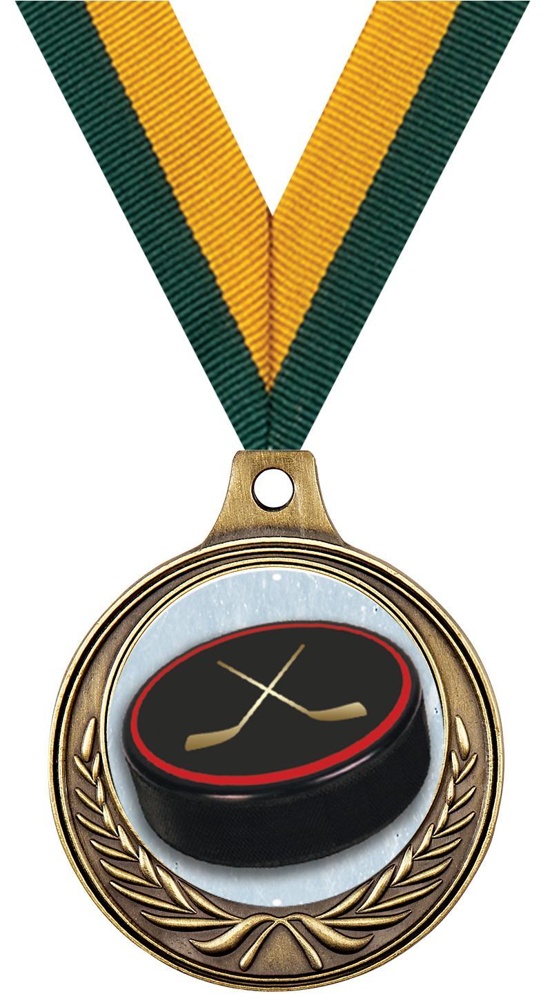 """1 1/2"""" Hockey Medals"""