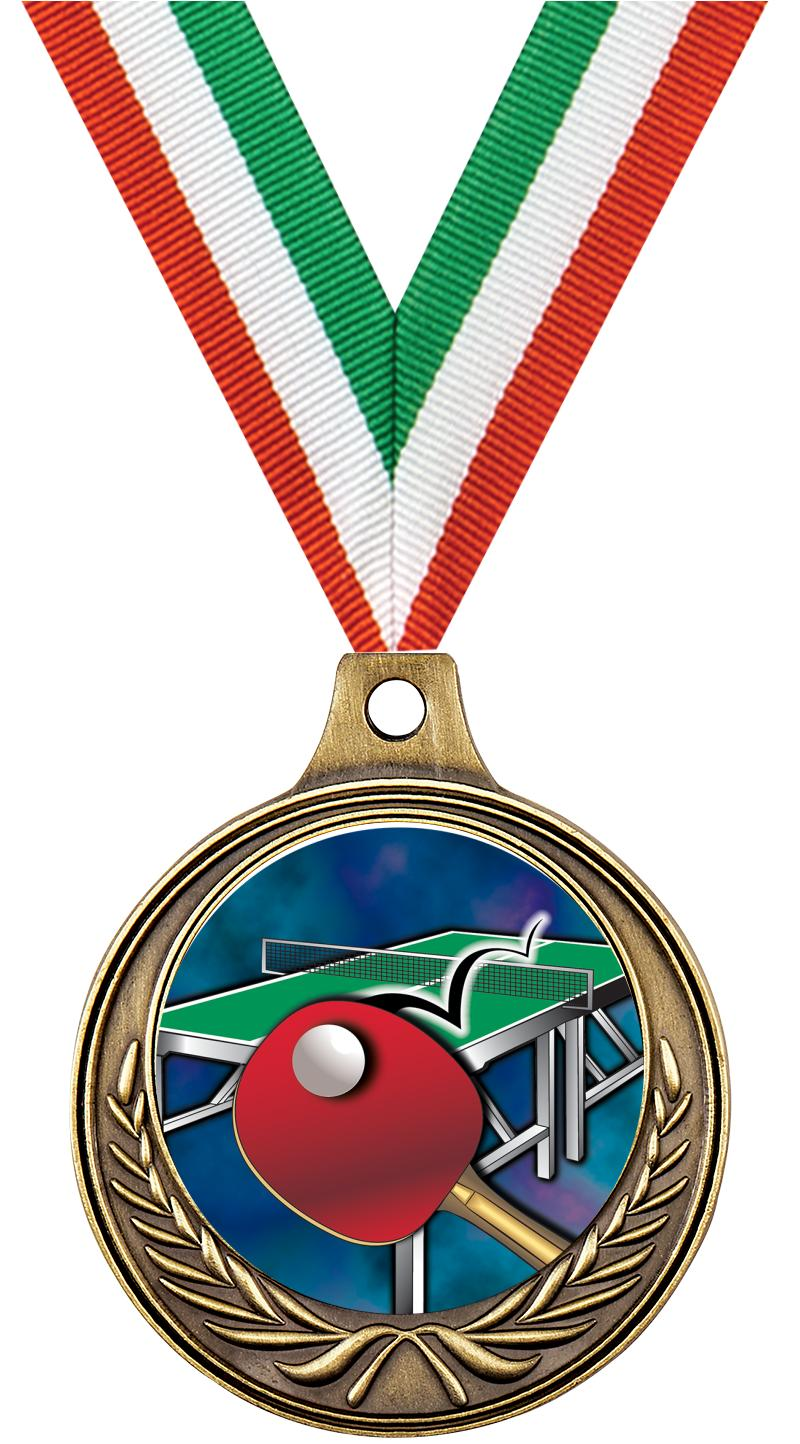 """1 1/2"""" Table Tennis Medals"""