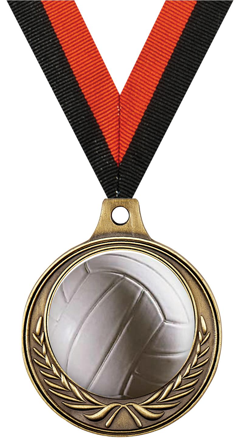 """1 1/2"""" Volleyball Medals"""