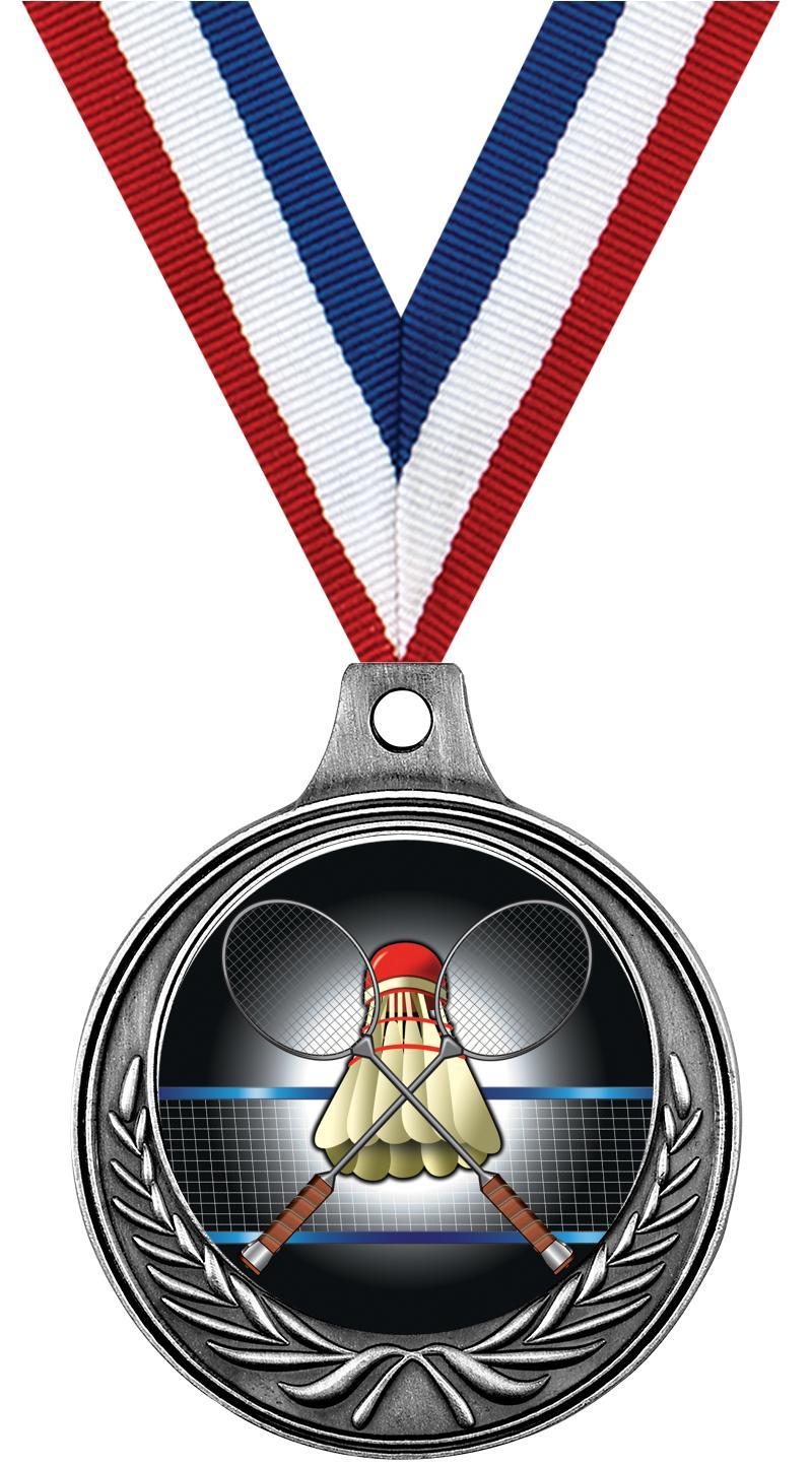 "1 1/2"" Badminton Medals"