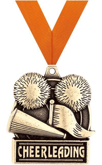"""1 3/4"""" Cheerleading Medals"""