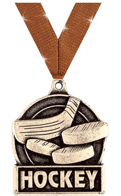 "1 3/4"" Hockey Medals"