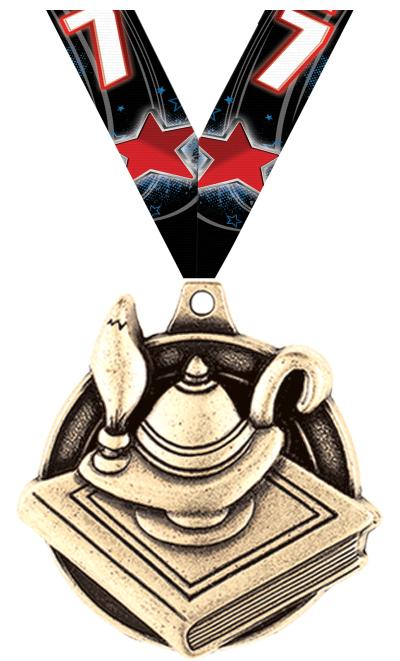 "1 3/4"" Education Medals"