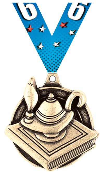 """1 3/4"""" Education Medals"""