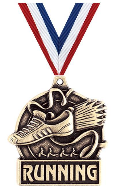 """1 3/4"""" Running Medals"""