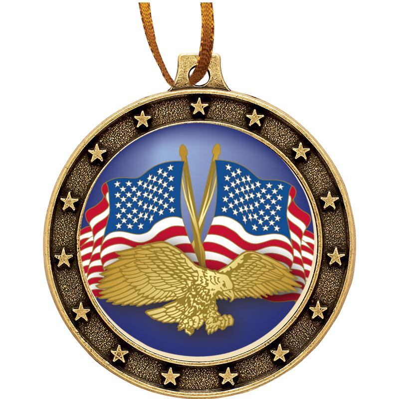 UNIVERSE STAR MEDAL ORNAMENT