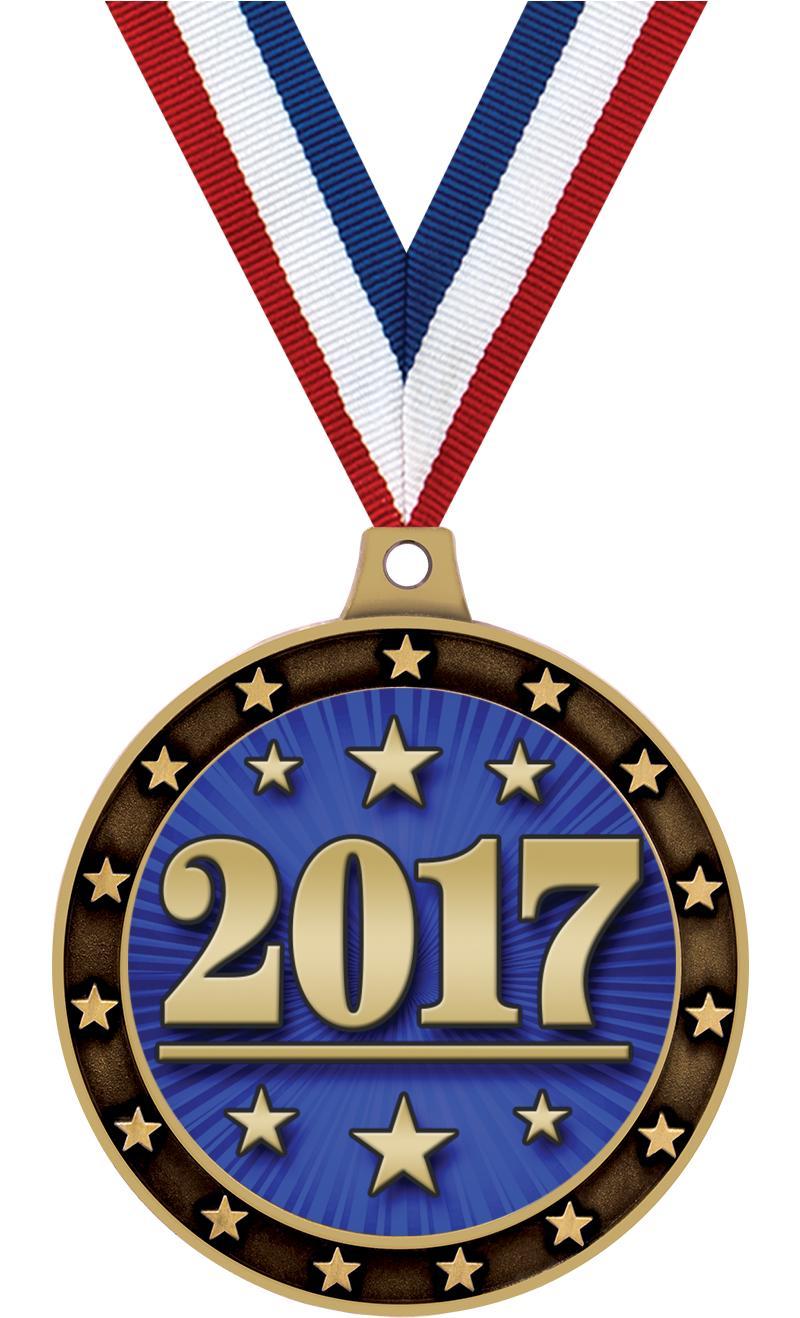 "2 1/2"" Universe Star Medal"