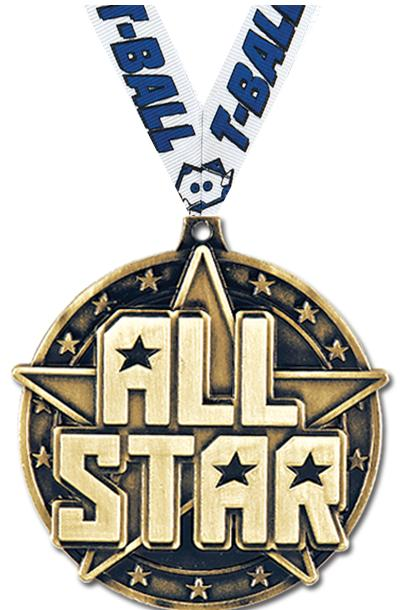 """2"""" All Star Medals"""