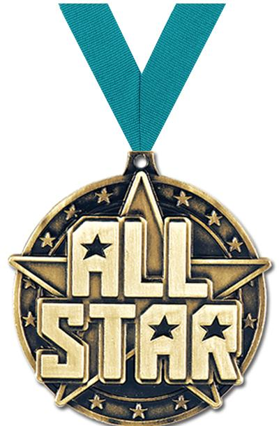 "2"" All Star Medals"