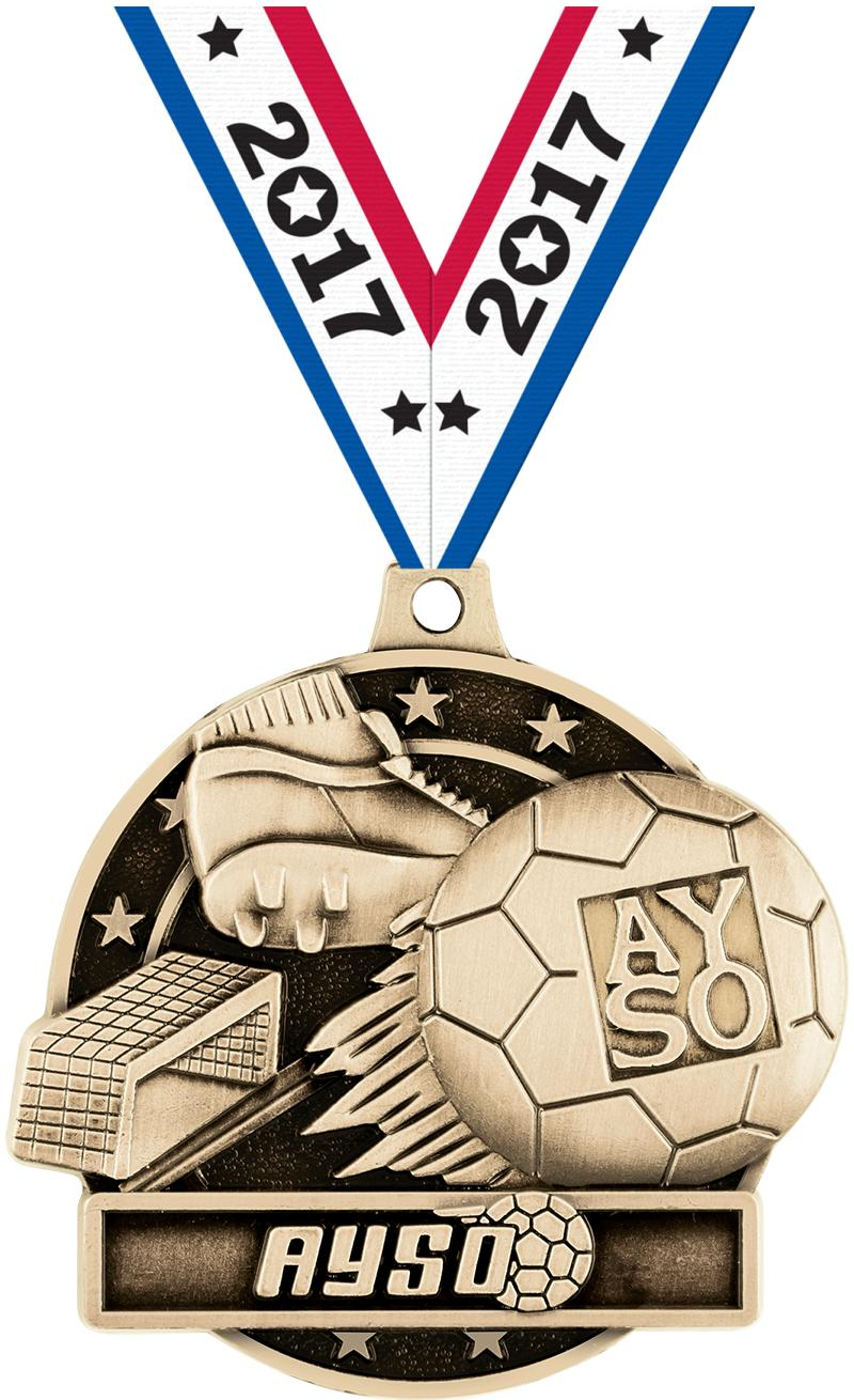 "2"" AYSO Medals"