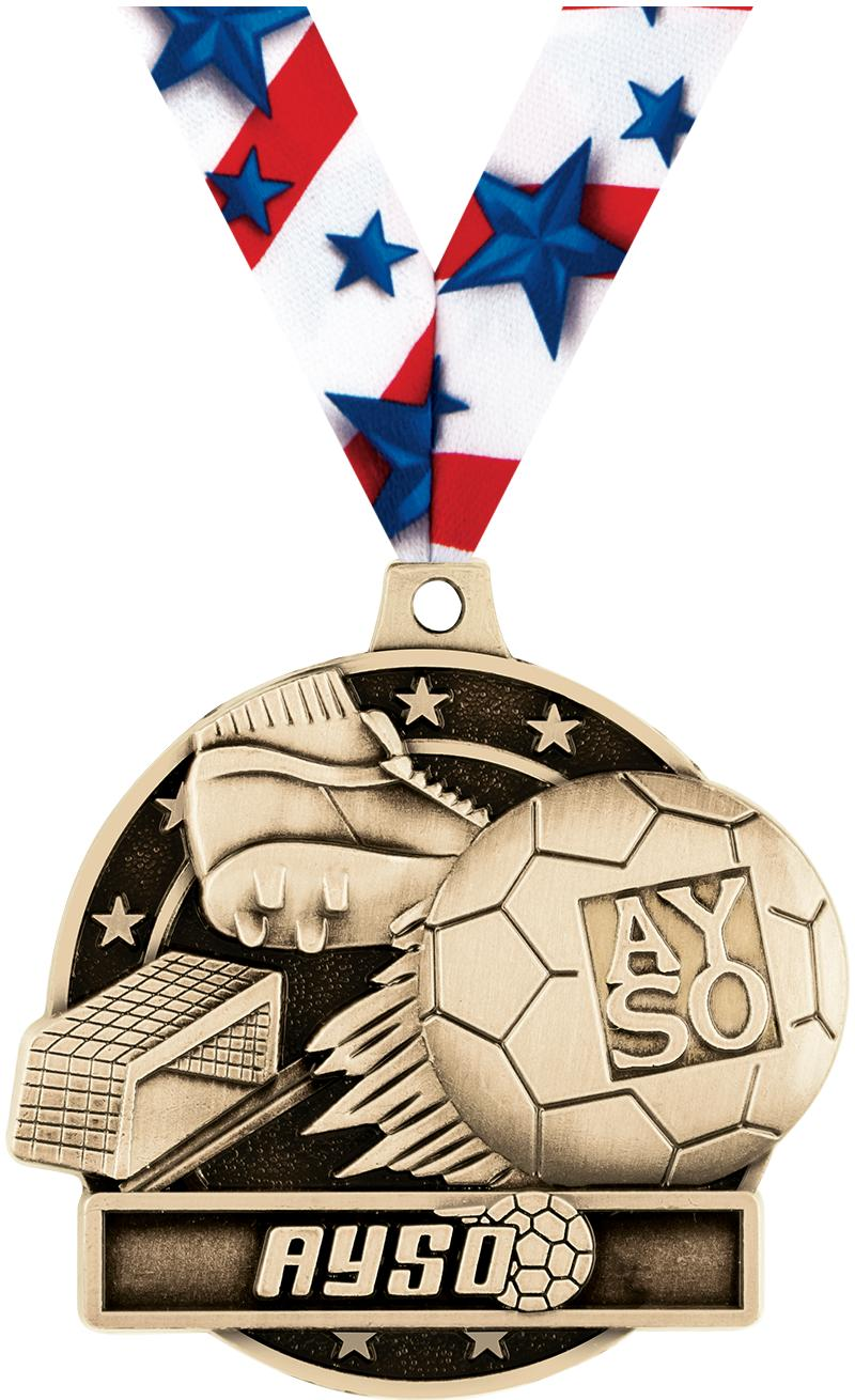 """2"""" AYSO Medals"""