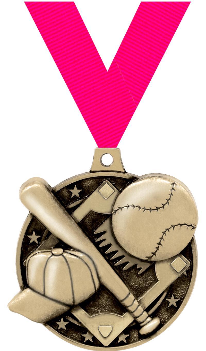 "2"" Baseball Medals"