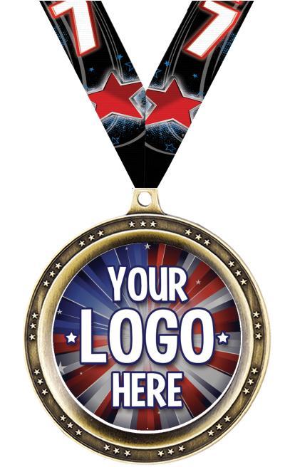 """2 1/2"""" Legend Medal"""