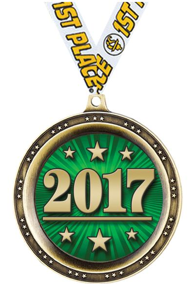 """2 1/2"""" Legend Sport Medal"""