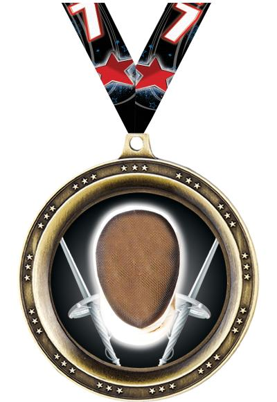 "2.5""LEGEND BLANK MEDAL GOLD"