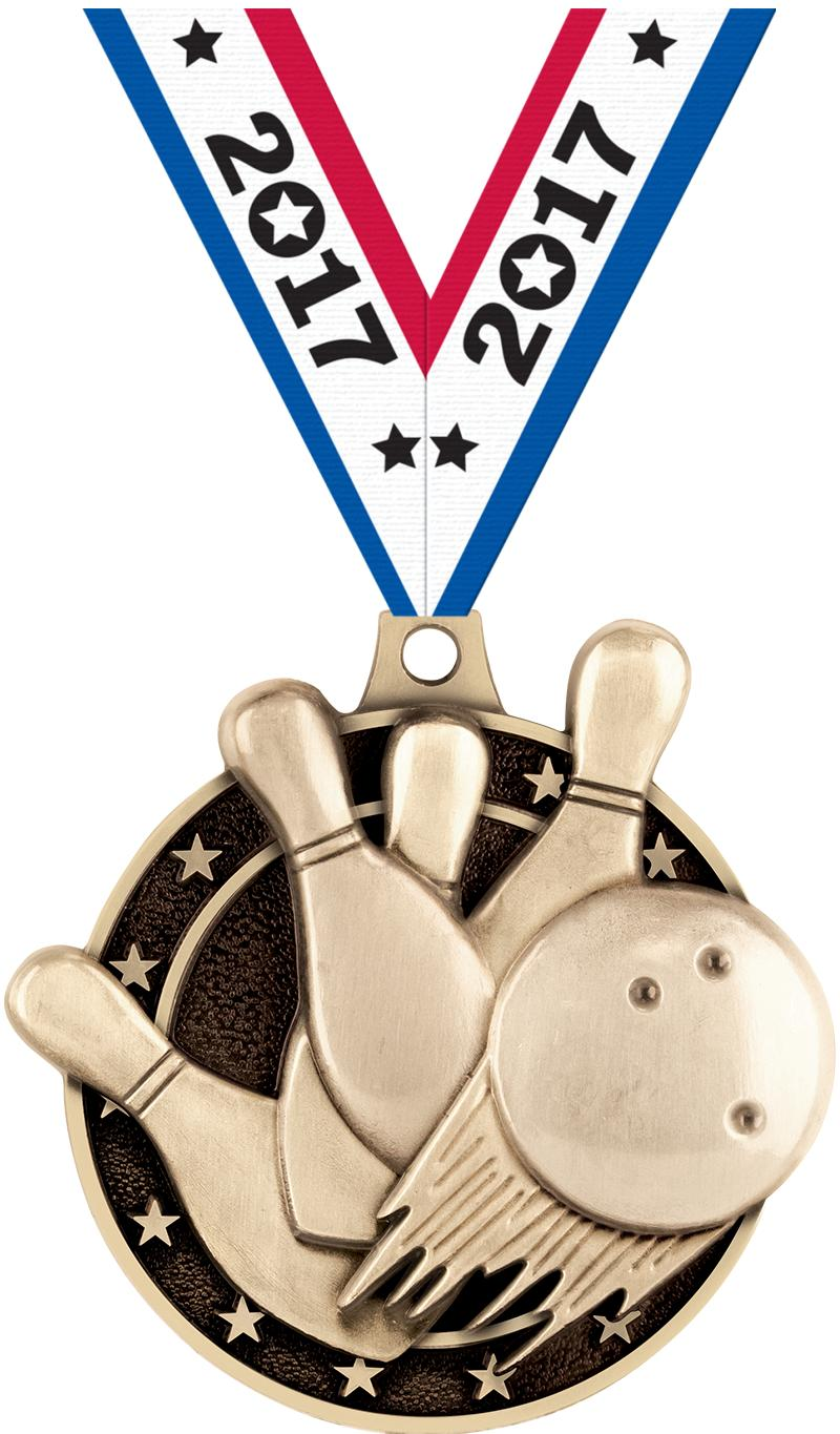 "2"" Bowling Medals"