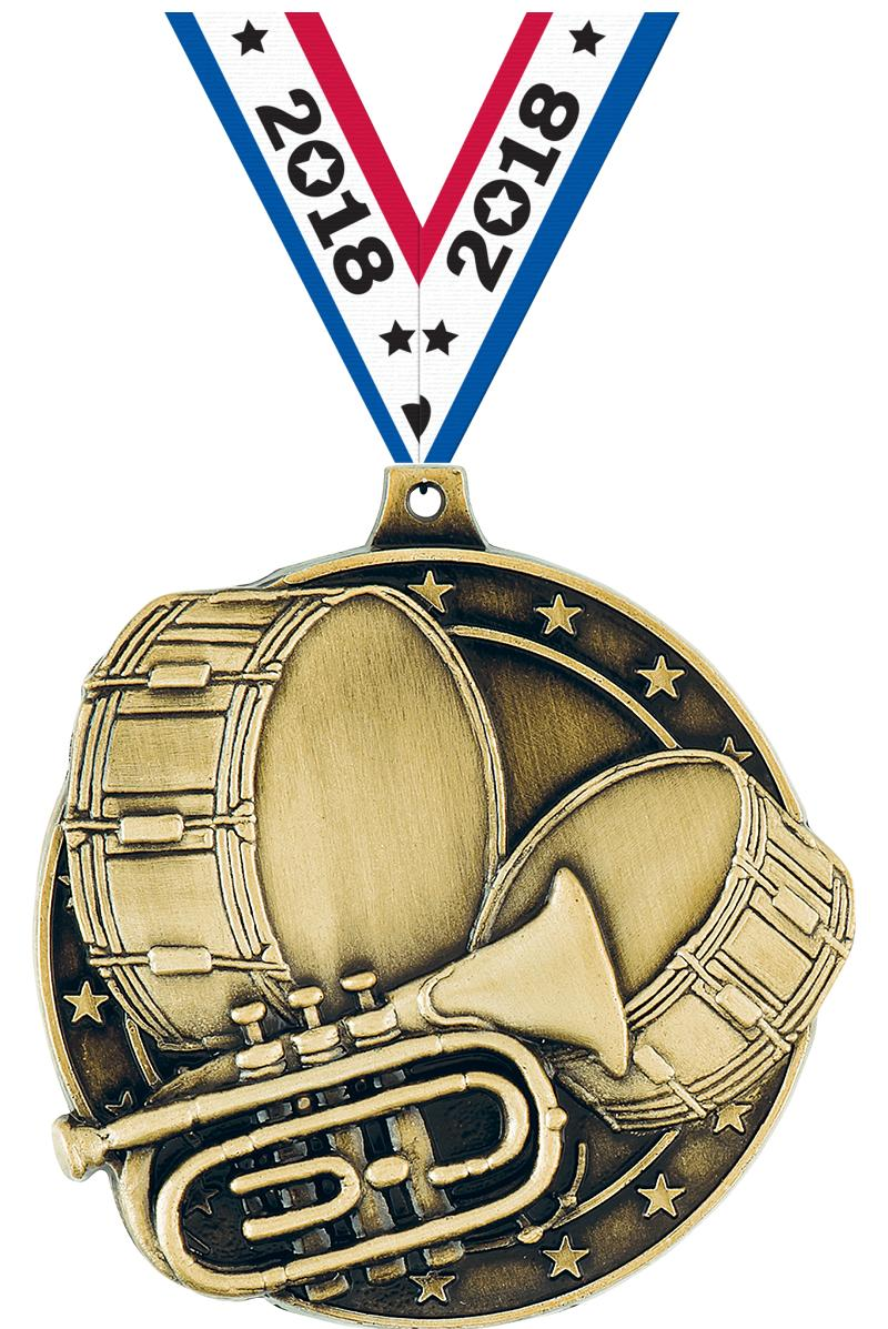 """2"""" Marching Band Medals"""
