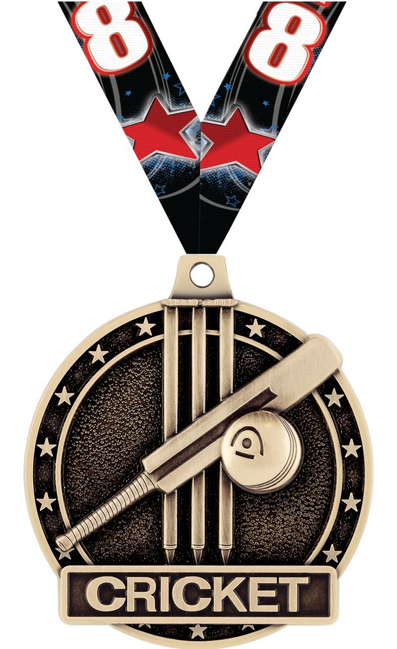 "2"" Cricket Medals"