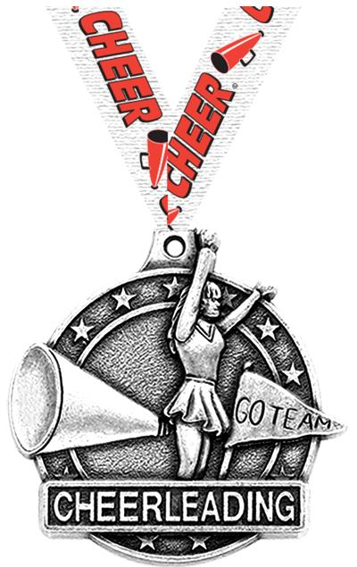 "2"" Cheer Medals"