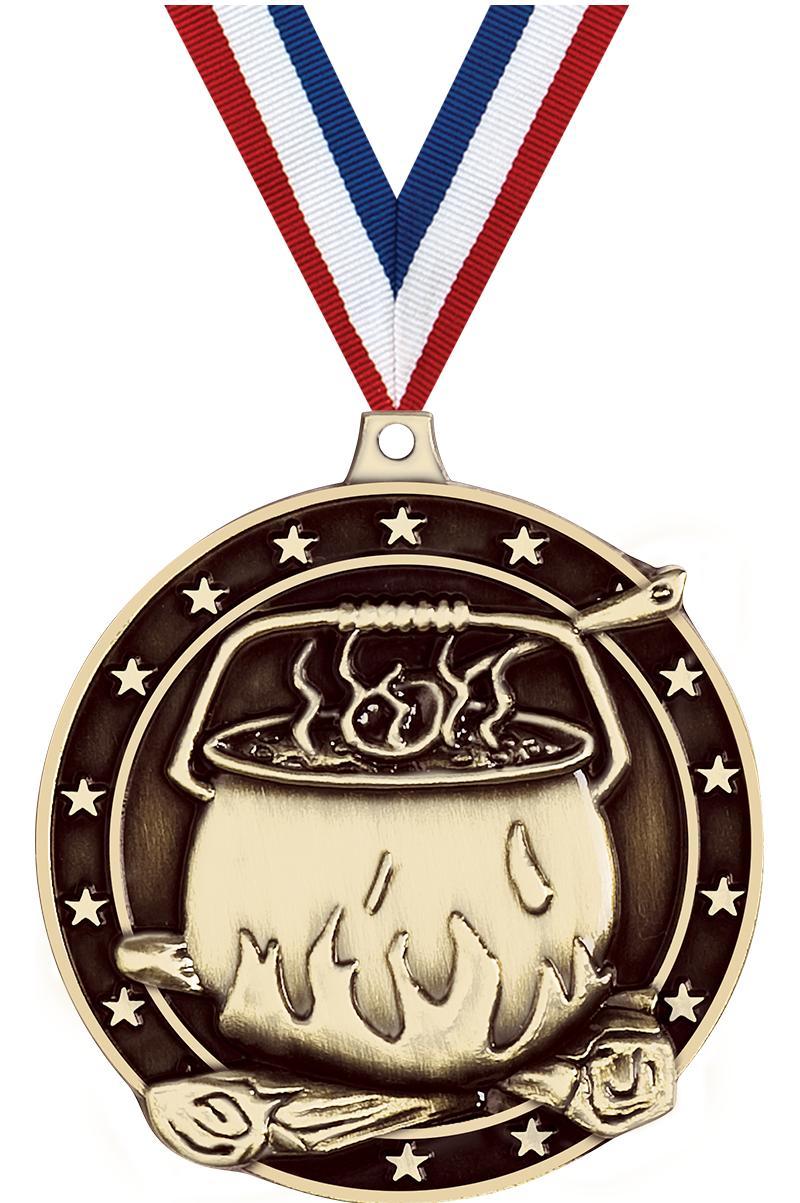 """2"""" Chili Pot Medals"""